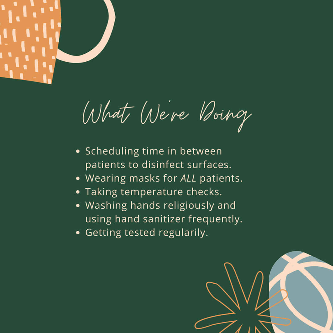 Covid Guide 3: What We're Doing